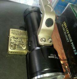 battery flashlight