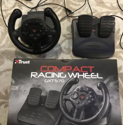 Racing steering wheel for PlayStation 3