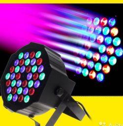 Işıklandırmalı spotlight peruk spot LED PAR DMX512