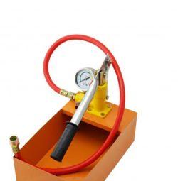 Manual pressure pump