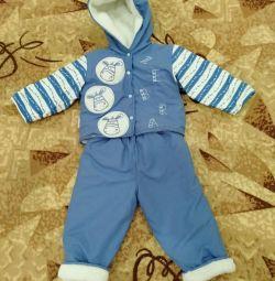 Το κοστούμι θερμαίνεται 12-18 μήνες