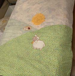 Комплект Дитячий (подушка, ковдра, постільна)