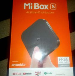 Xiaomi Mi Box S - 4K Android TV set-top box with Andro