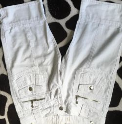 pantaloni trei sferturi