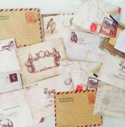 Vintage envelopes for letters