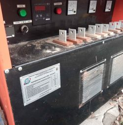 TSD3 transformer for concrete heating
