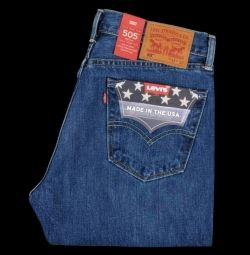 SATIŞ! Jeans LEVI'S 505, ABD'de yapıldı. 30/31/32