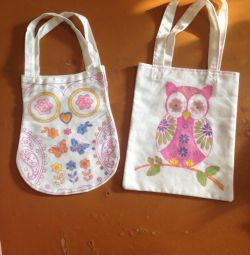 Children's bags, 2 pcs.