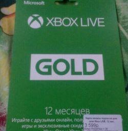 Το Xbox ζωντανό χρυσό 12 μήνες