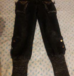 Jeans winter 128 size
