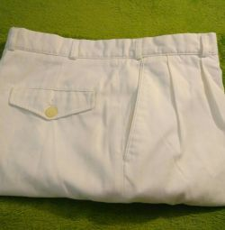 Pants white classic Pierre Cardin 48 size