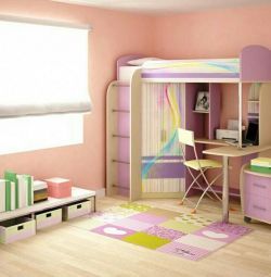 Baby bed combined chipboard №1