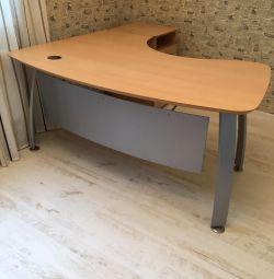Masă ergonomică cu masă laterală