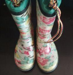 Обувь резиновые