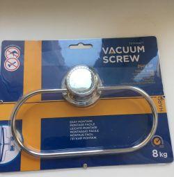 Новая вешалка для полотенец Tatkraft Vacuum Screw