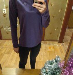 Spor yünlü sweatshirt