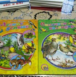 Βιβλία Δάσος σπίτια και Sinichkin ημερολόγιο Bianchi