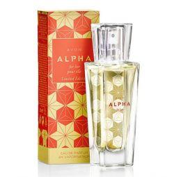 Perfumery Avon Alpha water, 30 ml