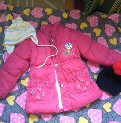 Kışlık ceket ve hediye)