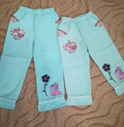 Pantaloni pentru primavara-vara