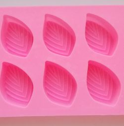 Silicone form pink