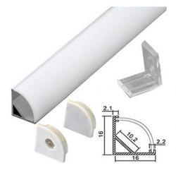 Colț al profilului 2 m pentru Smartbuy cu bandă LED