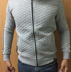 Men's jacket with a zipper new