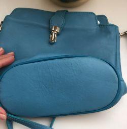 Handbag leather Italy
