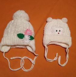 Yeni doğan bebeklerde yeni şapkalar