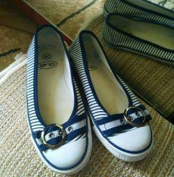 Ανδρικά παπούτσια, ποτάμι 36