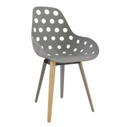 ARMCHAIR HM8051.10 CHARLIE GRAY WITH XY