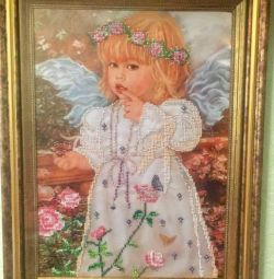 Imagine cu margele de înger