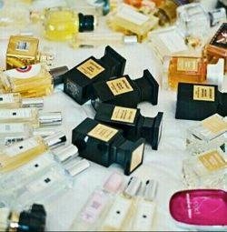 Orijinal parfümlerin atıklarım: Lüks ve niş.