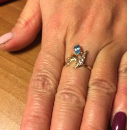 Topaz ring. Bargain!