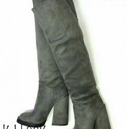 Yeni siyah çizmeler (botlar) 38-39 siyah