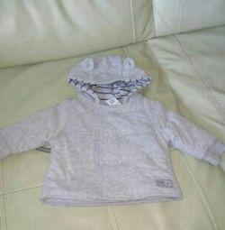 Jacket for a newborn