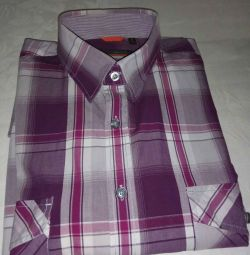 Men's shirt in a cage p. 42 (L) long