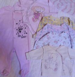 Речі для новонародженої дівчинки