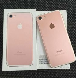 Новый iPhone 7 (256gb), rose gold 🔥