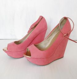 Bershka Κοραλλιογενών Σανδάλια / Παπούτσια