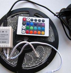 Kit bandă 12V RGB 4.8W / m DONGCHENG IP65