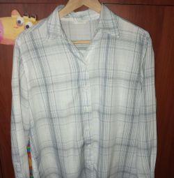 Мужская рубашка сорочка р. 44-46