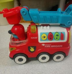Children's toy fire truck