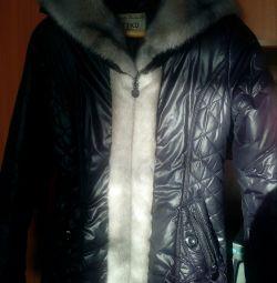 Uzun ceket., Kış
