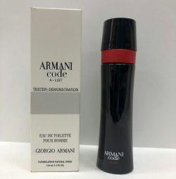 Testerul Armani