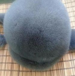 Mink hat in excellent condition