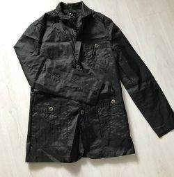 İnce Pelerin Ceket