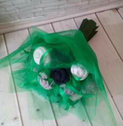 Present. Sock bouquet