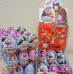 Шоколадное яйцо Киндер сюрприз