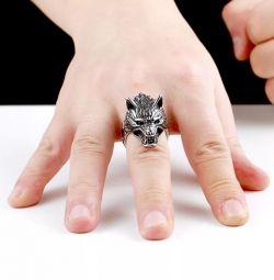 Δαχτυλίδι κοσμήματα χάλυβα 316 L